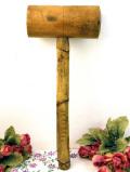 1920年代:木のぬくもりがあたたかいアンティークの大きなウッドハンマー