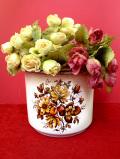 <英国ビンテージ>英国の優しいお花たち♪優雅で美しい鉢カバー