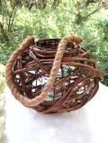 <英国ハンドメイド>カントリーな空気♪柳の枝でつくられたとても大きなガーデンランタン