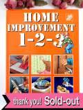 <英国インテリアBOOK>「HOME IMPROVEMENT 1-2-3」♪英国流DIYお部屋リノベーションの大判で超ぶ厚いご本