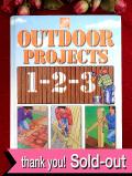 <英国ガーデニングBOOK>「OUTDOOR PROJECTST 1-2-3」♪英国流DIYガーデニングの大判で超ぶ厚いご本