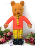 <RUPERT BEAR>1960年代:レア♪英国で大人気♪クマのルパード君のお人形
