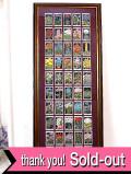 1930年代:とても貴重な「WILLS'S社」のシガレット・カードのとても大きな額「50枚のお花たち」