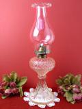 1920年代:透明なアンティークガラスが美しい大きなオイルランプ