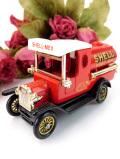 <LLEDO英国ビンテージ:デッドストック>ダイキャスト製♪英国のクラシックな「SHELL」の赤いトラック「お箱入り」