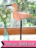 <英国ハンドメイド>貴重な木工細工♪英国カントリーサイドの野鳥さんの置物