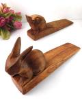 1940年代:木工細工が素敵♪かわいい動物たちのドアストッパー