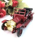 <LLEDO英国ビンテージ>ダイキャスト製♪深い赤色のクラシカルなオープンカー「お箱入り」