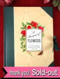 「VICTORIAN PHOTOGRAPH ALBUM」ヴィクトリアンなお花たちがきれいな優雅で大きなフォトアルバム