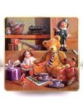 <英国ビンテージ>「Continental Chocolates」♪テディベアが可愛い英国の伝統的なチョコレートの大きなTIN缶