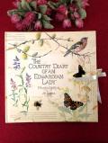 <英国アートBOOK>「THE COUNTRY DIARY OF AN EDWARDIAN LADY」♪イーデス・ホールデンさんのとても大きなフォトアルバム