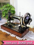 レア♪1920年代:珍しい英国アンティークの大きなミシン