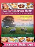 <英国COOK BOOK>「INGLISH TRADITIONAL RECIPES」♪英国の伝統的なお料理の本