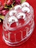 1950年代:ふっくら大きなアンティークガラス♪珍しい英国のモールド