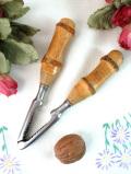 1920年代:しっかりとした木製の持ち手♪とても珍しいナッツクラッシャー