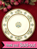 ★★<MINTONS>「HENLEY」♪優雅なお花たちと金彩が美しい伝統的なパターンのブレッドプレート:通常価格3480円→