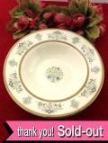 <MINTONS>「HENLEY」♪優雅なお花たちと金彩が美しい伝統的なパターンの大きなスープボウル