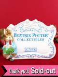 <Schmid>レア♪「BEATRIX POTTER」ビアトリクス・ポター♪ピーターラビットの陶器の置物