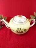 <SADLER>1940年代:英国の優雅なバラたち♪ぽったりとぶ厚い陶器のティーポット