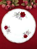 <ROYAL STAFFORD>「ROSES TO REMENBER」♪ロマンチックな英国の赤いバラの大きなディナープレート