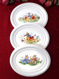 <ロイヤル・ドルトン>レア♪「バニキンズ」♪世界的に有名なウサギさんの絵皿の壁掛けプレート