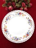 <ロイヤルアルバート>「JUBILEE ROSE」♪美しいバラのブーケ♪優雅で上品なディナープレート