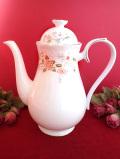 <ROYAL ALBERT>「For All Seasons」♪立体的な薔薇のお花の大きなコーヒーポット