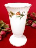 <廃盤レア♪ウェッジウッド>「MIRABELLE」(ミラベル)♪イングリッシュガーデンのお花たちが美しい優雅フォルムのフラワーベース