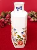 <エインズレイ>「COTTAGE GARDEN」優しい英国のお花たち♪とても優雅な優しい六角形のフラワーベース