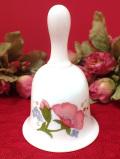 <廃盤レア♪ウェッジウッド>水彩画のようなお花たち♪「MEADOW SWEET」の珍しいベル