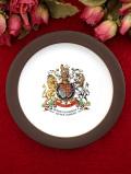 <HORNSEA>1977年:「SILVER JUBILEE」♪とても貴重なエリザベス女王の飾り皿「スタンド付」