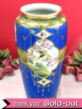 <オールドノリタケ>1911~21年:貴重で豪華♪素晴らしすぎるエナメル金盛りの大きな飾り壺