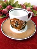 <スージー・クーパー>廃盤レア♪1958年:パンジーのお花「リベリエ」の貴重なカップ&ソーサー