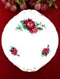 <ROYAL STANDARD>大輪のバラのお花♪金彩もきれいな大きなサンドイッチプレート