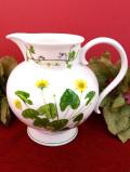 <PORTMEIRION>1950年代:英国のお花たち♪ぽったりとしたフォルムが可愛い陶器のジャグ