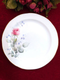 <Elizabethan>「MORNING ROSE」♪咲きかけたバラが美しいディナープレート