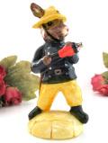 <Royal Doulton>レア♪「Bunnykins」♪「Fireman」世界的に有名なウサギさんのフィギュア「お箱&説明書付」