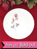 <ROYAL DOULTON>ピンク色のオールドローズ♪「PILLAR ROSE」上品で美しいドルトンのケーキ皿
