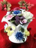 <ROYAL DOULTON>1950年代:バラのお花たちのブーケ♪美しい陶器細工のお花