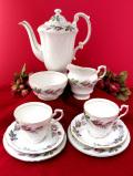 <廃盤レア♪PARAGON>「Bridal Rose」華麗なバラのつぼみたち♪ロマンチックな英国のティーフォーツー