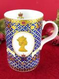 <JAMES SADLER>「GOLDEN JUBILEE」♪エリザベス女王のコロネーションの豪華なマグカップ