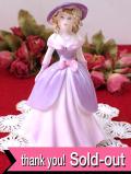 <コールポート>Violet♪ヴィクトリアンレディの優雅なフィギュリン