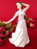 <ROYAL DOULTON>ドルトンフィギュア♪軽やかに踊る優雅なレディのフィギュア「お箱&パンフレット付」