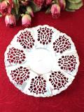 <英国銀器>1920年代:シルバープレートの透かし模様♪美しいお花のようなディッシュ