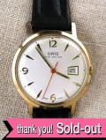 【365日保証付】<ORIS>1960年代:スイスの名門オリスの機械式腕時計