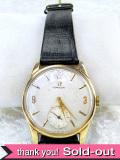 【365日保証】<OMEGA>1960年代:とても貴重な「オメガ」の9金の機械式腕時計