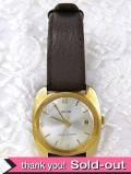 【365日保証付】<スミスの腕時計>1960年代:シャンパンゴールドのSMITHSの珍しい自動巻の腕時計