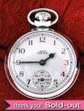 【30日保証付】<スミスの時計>1960年代:レア♪SMITHSの「EMPIRE」の懐中時計「お箱:証明書付」