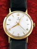【365日保証】<TUDOR>1950年代:ROLEXの英国ブランド「チュードル」の9金無垢の腕時計「小バラ」