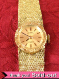 【365日保証付】<ANTIMA>1960年代:とても貴重で珍しいアンティマ社の17石の女性用の機械式腕時計